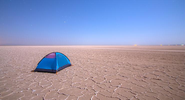Desert Camping Tent tips